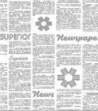 Иллюстрация газеты свирль картины конструкции предпосылки цветастая Имитация газеты бесплатная иллюстрация