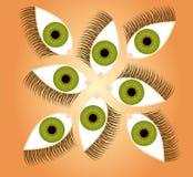 иллюстрация глаза Стоковые Фотографии RF
