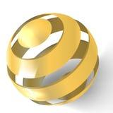 иллюстрация глобуса Стоковые Изображения RF
