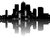 иллюстрация города Стоковое фото RF