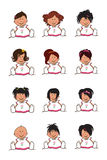 иллюстрация детей Стоковое фото RF