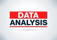 Иллюстрация дизайна предпосылки конспекта анализа данных плоская иллюстрация вектора