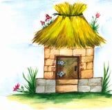 иллюстрация дома Стоковые Фото