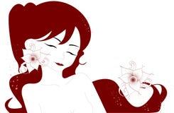 иллюстрация женщины стоковое изображение
