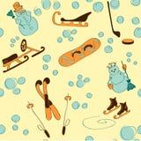 Иллюстрация зимы Стоковое Фото