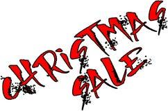 Иллюстрация знака текста курортного сезона продажи рождества Стоковые Фотографии RF