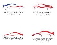 Иллюстрация значка логотипа автомобиля иллюстрация вектора