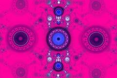 Иллюстрация изображения искусства фрактали математически произведенная алгоритмом может проиллюстрировать illustratio вселенной г Стоковые Фотографии RF