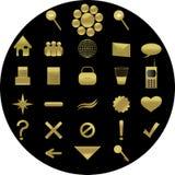 иллюстрация икон Стоковые Фотографии RF