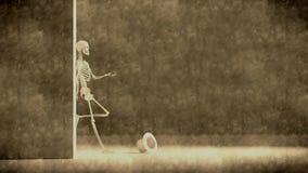 иллюстрация имитируя старый фотоснимок Стоковые Изображения RF