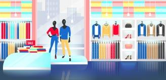 Иллюстрация интерьера магазина моды бесплатная иллюстрация