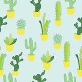 Иллюстрация кактуса в баке бесплатная иллюстрация