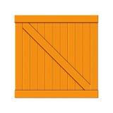 иллюстрация клети деревянная Стоковое Фото