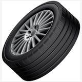 Иллюстрация колеса сплава автомобилей Стоковая Фотография RF