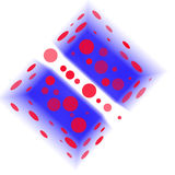 Иллюстрация коробки игрушки Стоковое Изображение RF