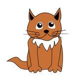 иллюстрация кота шаржа иллюстрация штока