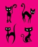 иллюстрация кота Стоковое Изображение RF