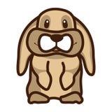 Иллюстрация которая показывает кролика Стоковая Фотография