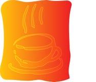 иллюстрация кофейной чашки иллюстрация штока