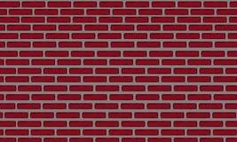 Иллюстрация красной кирпичной стены Стоковая Фотография RF