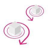 иллюстрация кубика Стоковые Фотографии RF