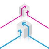 иллюстрация кубика Стоковая Фотография