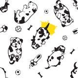 Иллюстрация маленького щенка Стоковое Изображение RF