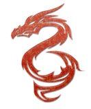 Иллюстрация мифического дракона Стоковые Изображения RF