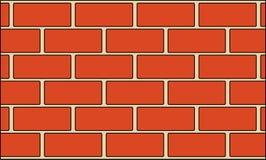 Иллюстрация обоев предпосылки кирпичной стены Стоковое Изображение RF