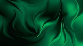Иллюстрация обоев предпосылки прозрачного влияния темная ая-зелен абстрактная запачканная иллюстрация вектора