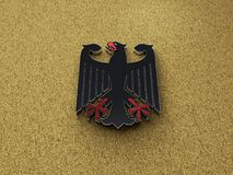 Иллюстрация орла 3D Deutschland немецкая бесплатная иллюстрация