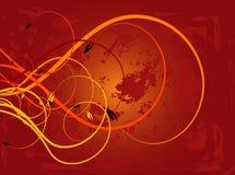 иллюстрация осени выходит вектор Стоковое фото RF
