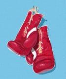 иллюстрация перчаток бокса Стоковое Фото