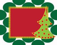 иллюстрация подарка рождества карточки предпосылки Стоковое Изображение RF