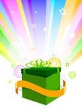 иллюстрация подарка Стоковое Изображение