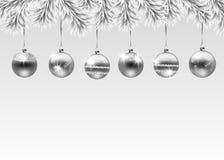Иллюстрация праздника рождества Стоковые Изображения