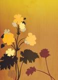 иллюстрация предпосылки декоративная флористическая Стоковая Фотография