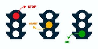 иллюстрация предпосылки изолировала светлую белизну вектора вариантов движения иллюстрация штока