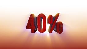 иллюстрация предпосылки 3d 40% белая иллюстрация вектора