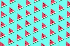 Иллюстрация предпосылки 3D картины лета арбуза Стоковые Фотографии RF