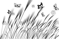 Иллюстрация природы вектора стоковое изображение