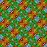 Иллюстрация произведенная компьютером с абстрактным kaleidoscopic patt Стоковое Фото