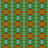 Иллюстрация произведенная компьютером с абстрактным kaleidoscopic patt Стоковая Фотография