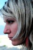 Иллюстрация профиля женщины стоковая фотография