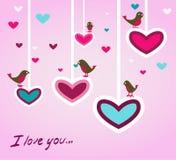 иллюстрация птиц Стоковая Фотография RF