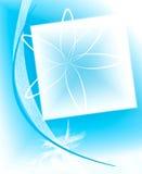 иллюстрация рамки цветка Стоковые Изображения RF