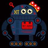Иллюстрация робота 2 завальцовки Стоковые Фото