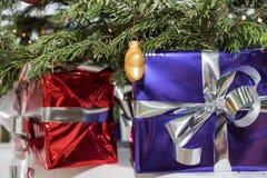 иллюстрация рождества представляет вал под вектором стоковые фото