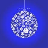 иллюстрация рождества шарика Стоковая Фотография