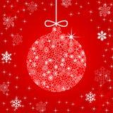 иллюстрация рождества шарика Стоковое фото RF